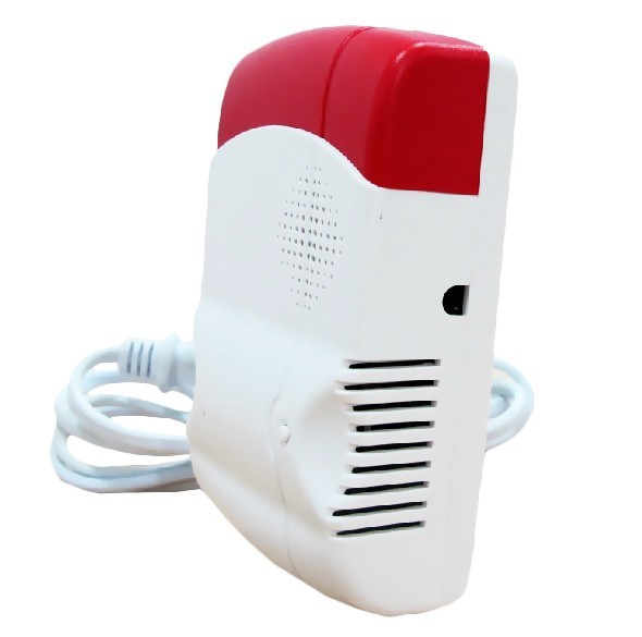 Trådlös gasdetektor till ditt hemlarm/villalarm.