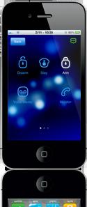 Larm via app till både iPhone och Android i Göteborg.